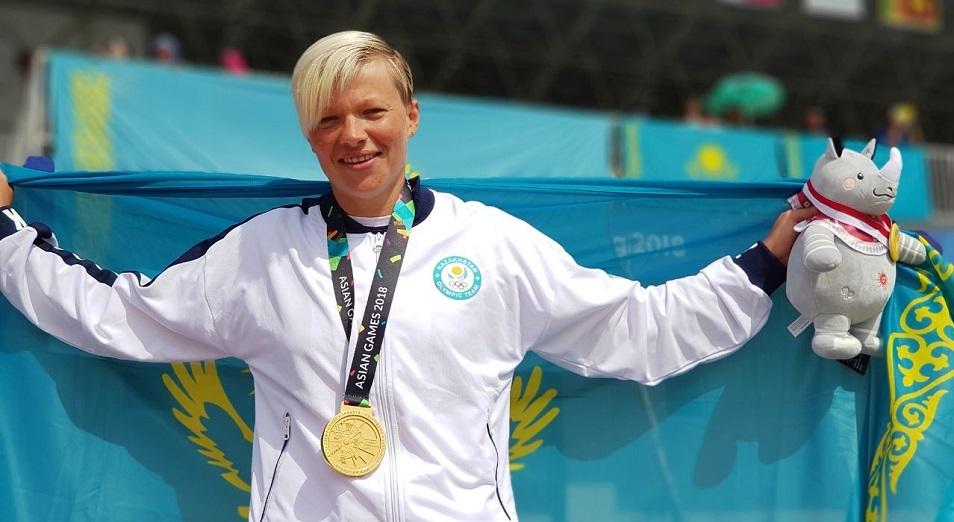 Инна Клинова Азия ойындарының чемпионы