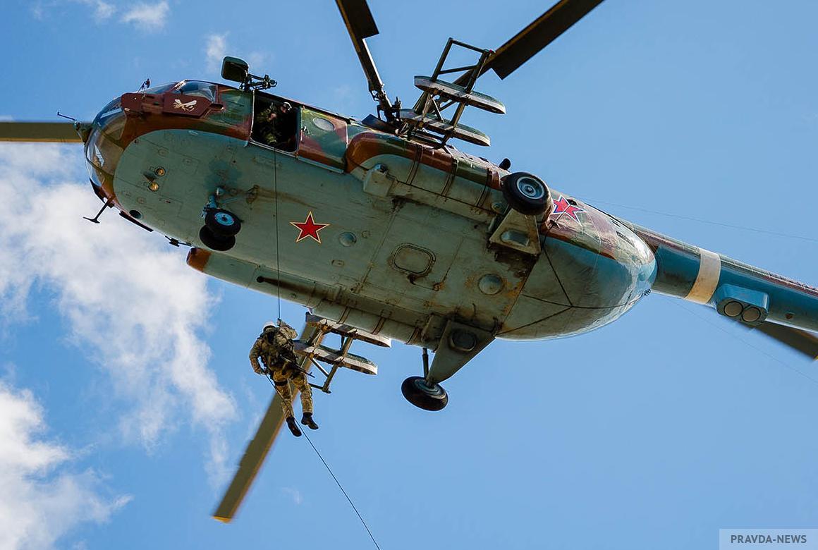 """В Иркутской области пропал вертолет Ми-8 авиакомпании """"Ангара"""""""