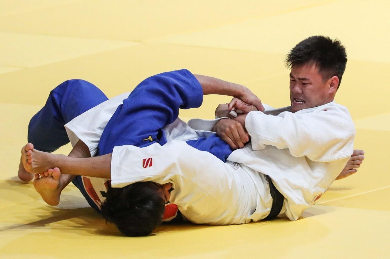 Дзюдоист Дидар Хамза принес Казахстану 10-е золото на Азиаде-2018