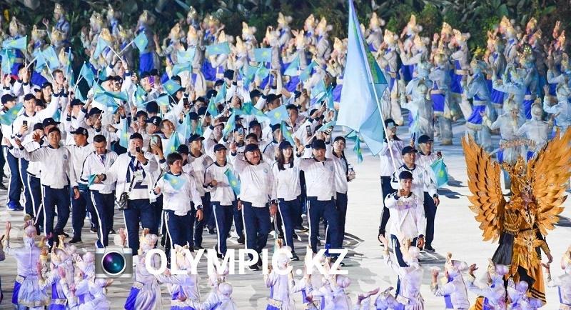 Казахстан принял участие в открытии Азиатских игр-2018