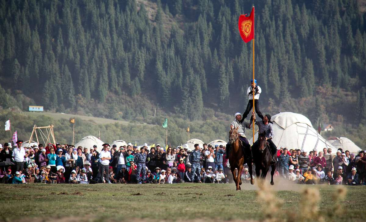 III Всемирные игры кочевников открываются в Кыргызстане