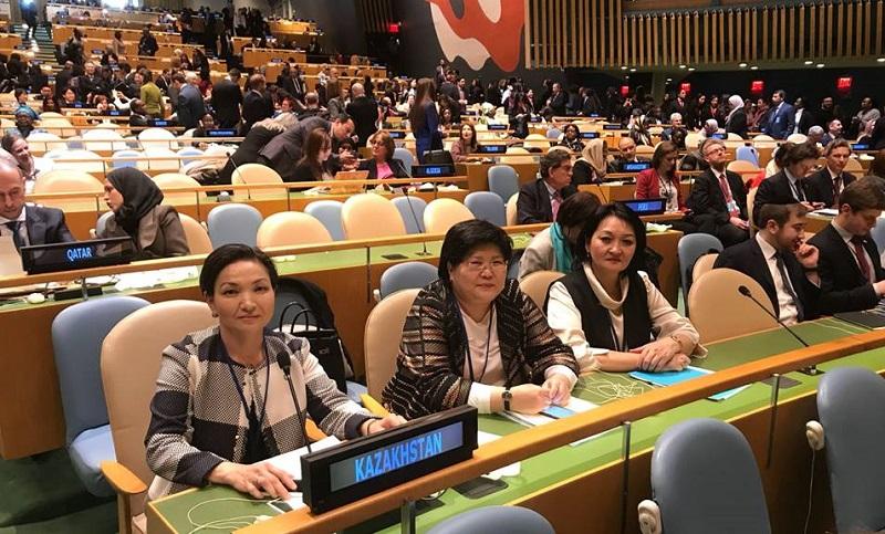 """Совет деловых женщин РК готов """"сверить часы"""" в штаб-квартире ООН"""