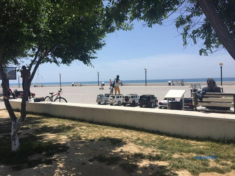Продавцов и прокатчиков уберут с набережной Актау на время проведения саммита