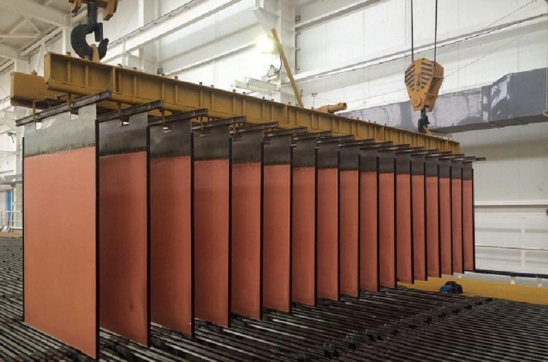В Карагандинской области запустили завод по производству катодной меди