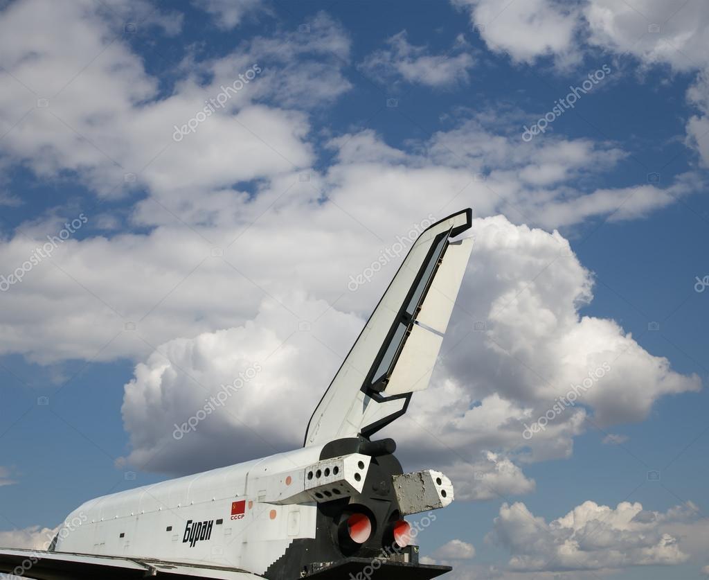 Макет корабля «Буран» установили в музее космоса в Астане