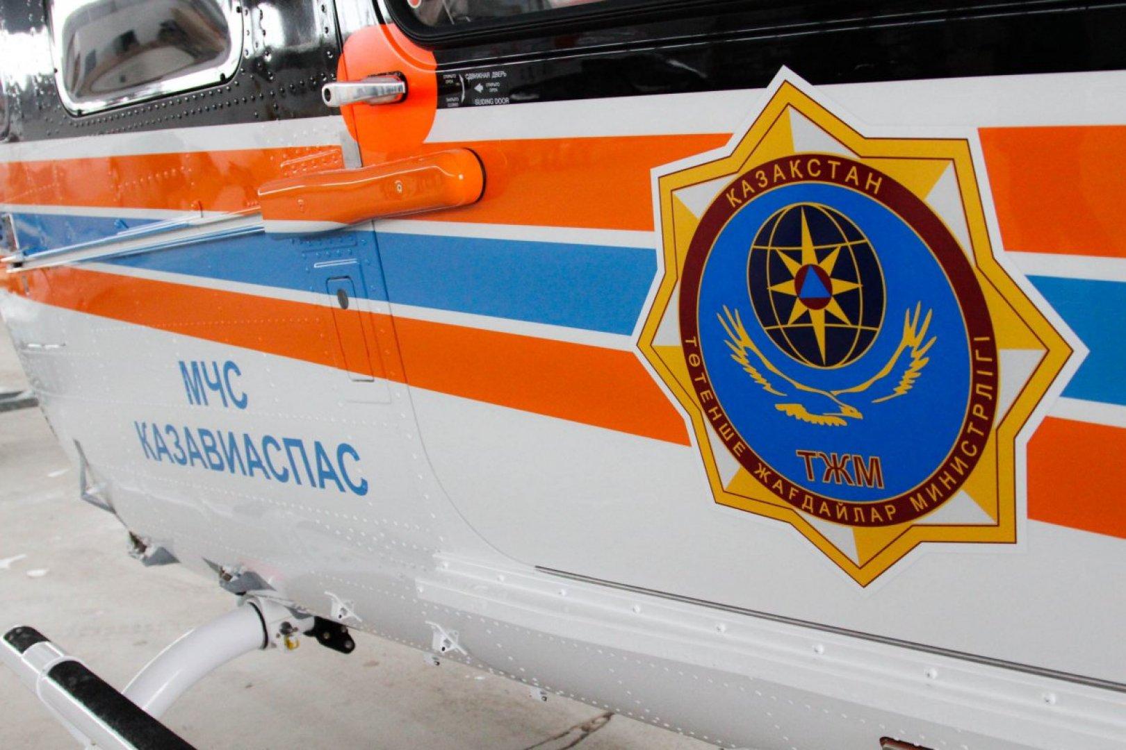 Санавиация доставила в Алматы казахстанку, пострадавшую на перевале Чике-Таман