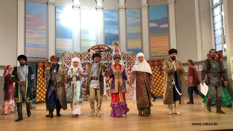 Кызылординский театр выступил в Шотландии