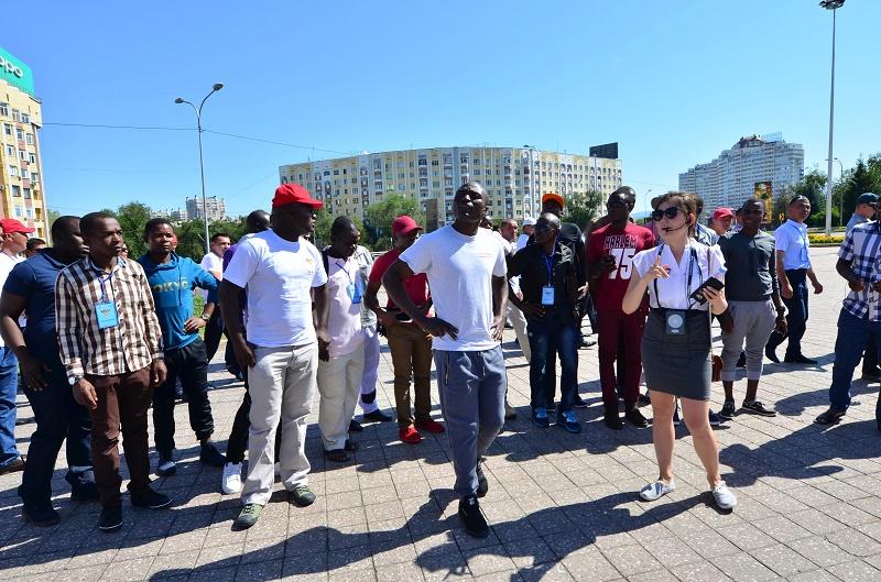 Участники АрМИ-2018 знакомятся с уникальной культурой Казахстана