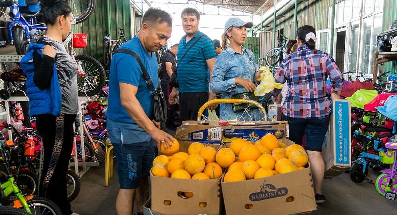365 тонн продуктов привезут фермеры из Жамбылской области на ярмарку в Астану