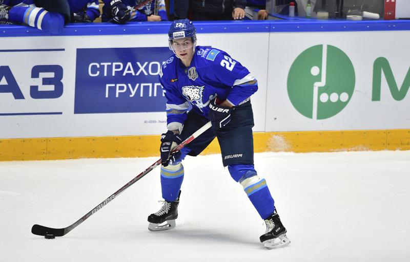 «Барыс» расторг контракт с форвардом сборной Казахстана
