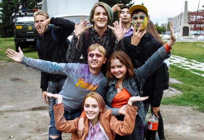 Фестиваль красок начался сегодня в Усть-Каменогорске