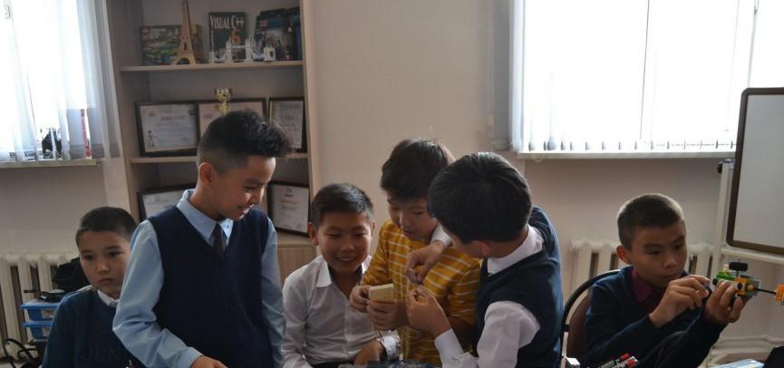 Школа робототехники открылась в Кызылорде