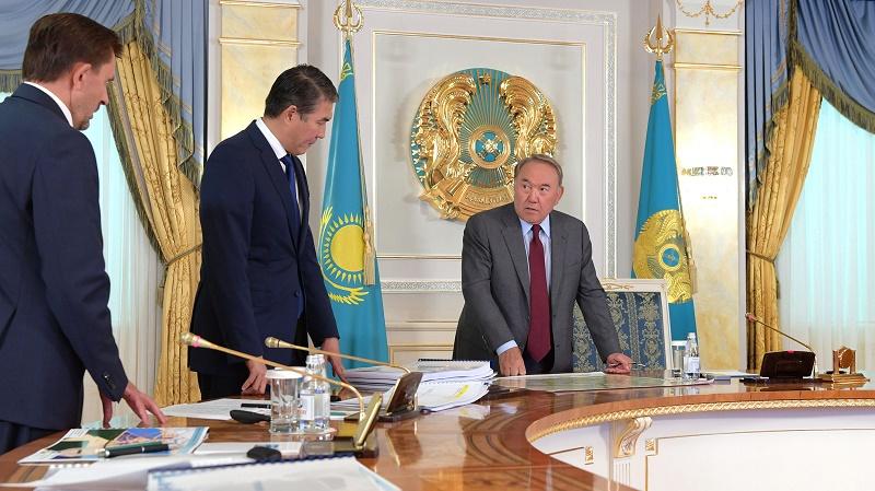 Нурсултан Назарбаев провел совещание по вопросам развития Астаны