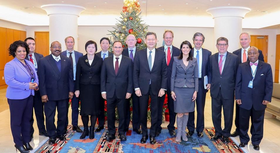 Совбез ООН утвердил программу казахстанского председательства