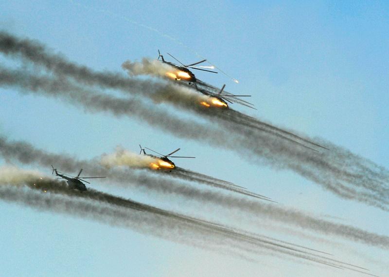 Военнослужащие Сил воздушной обороны отмечают 20-летний юбилей