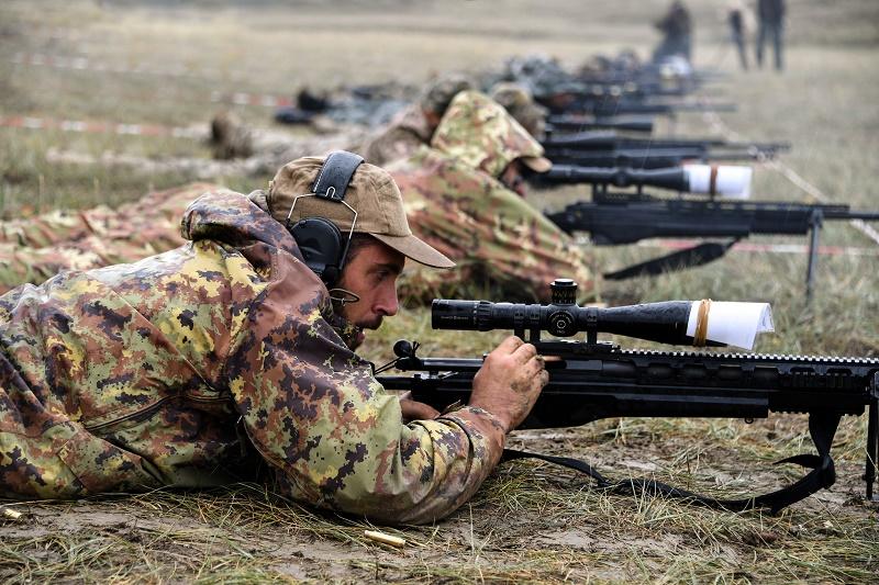 Казахстанские снайперы стали победителями международных соревнований снайперских пар