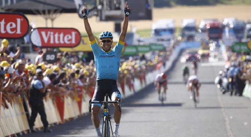 Фраиле принес Astana Pro Team победу на 14 этапе «Тур де Франс»