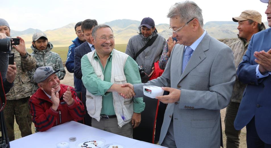 В Восточном Казахстане нашли «золотого человека»