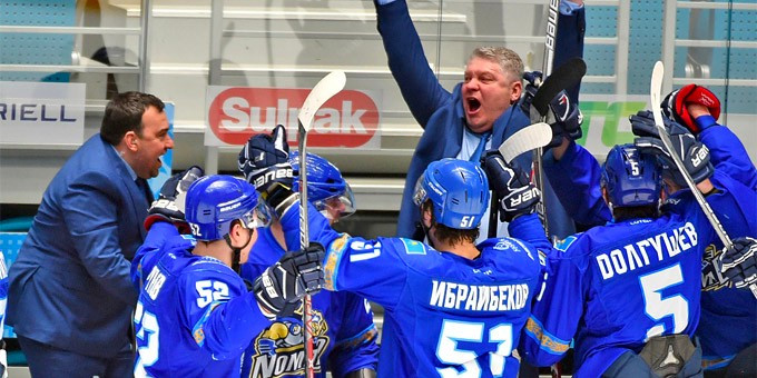 ХК «Номад» принят в Высшую хоккейную лигу