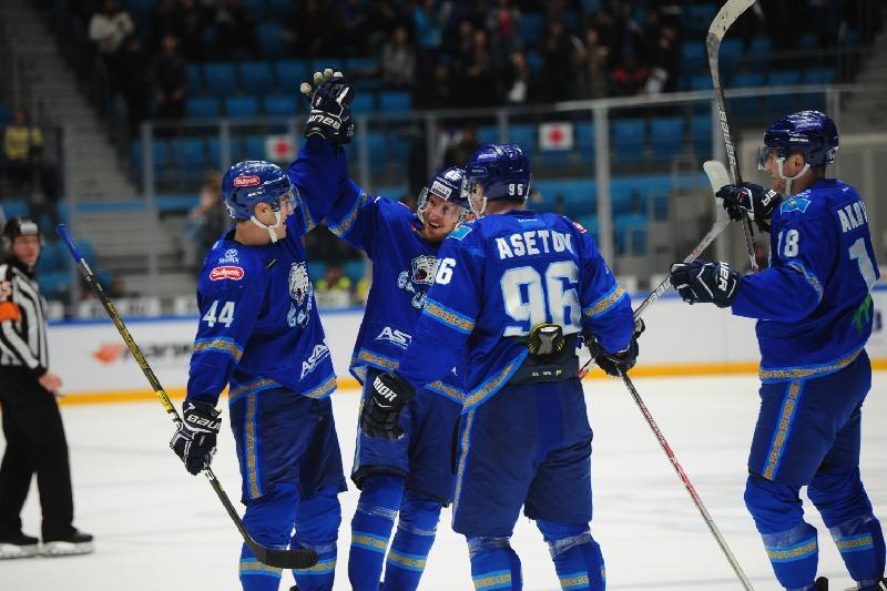 ХК «Барыс» во второй раз за 10 дней обыграл рижское «Динамо»