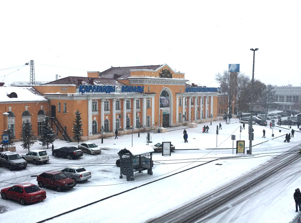 В Караганде вокзал закрывается на ремонт