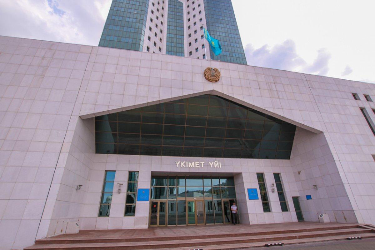 Нурсултан Назарбаев своим указом отправил в отставку правительство Казахстана