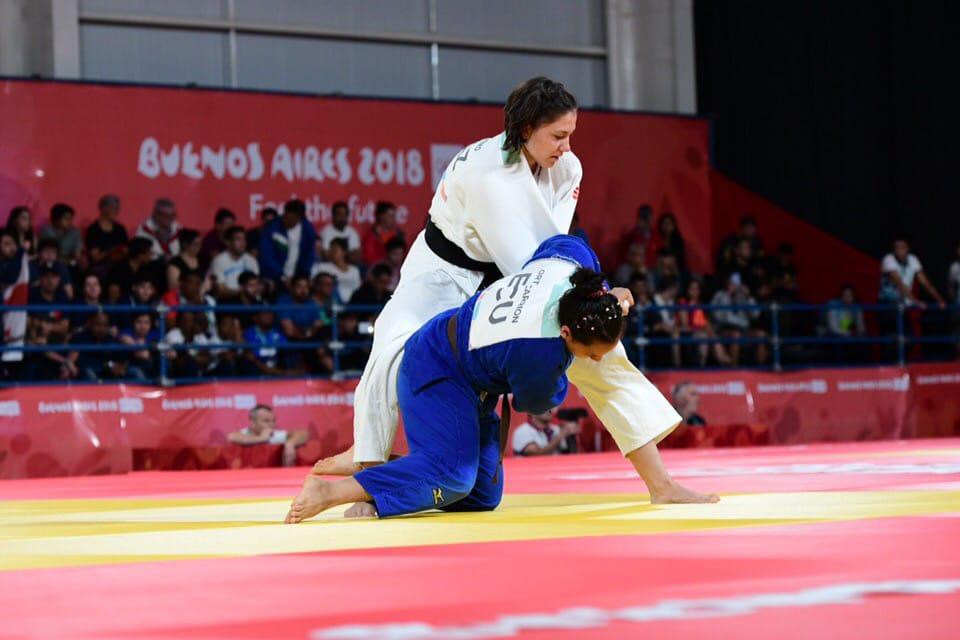 Вице-чемпионка ЮОИ по дзюдо Гриценко: «В финале не хватило хитрости»