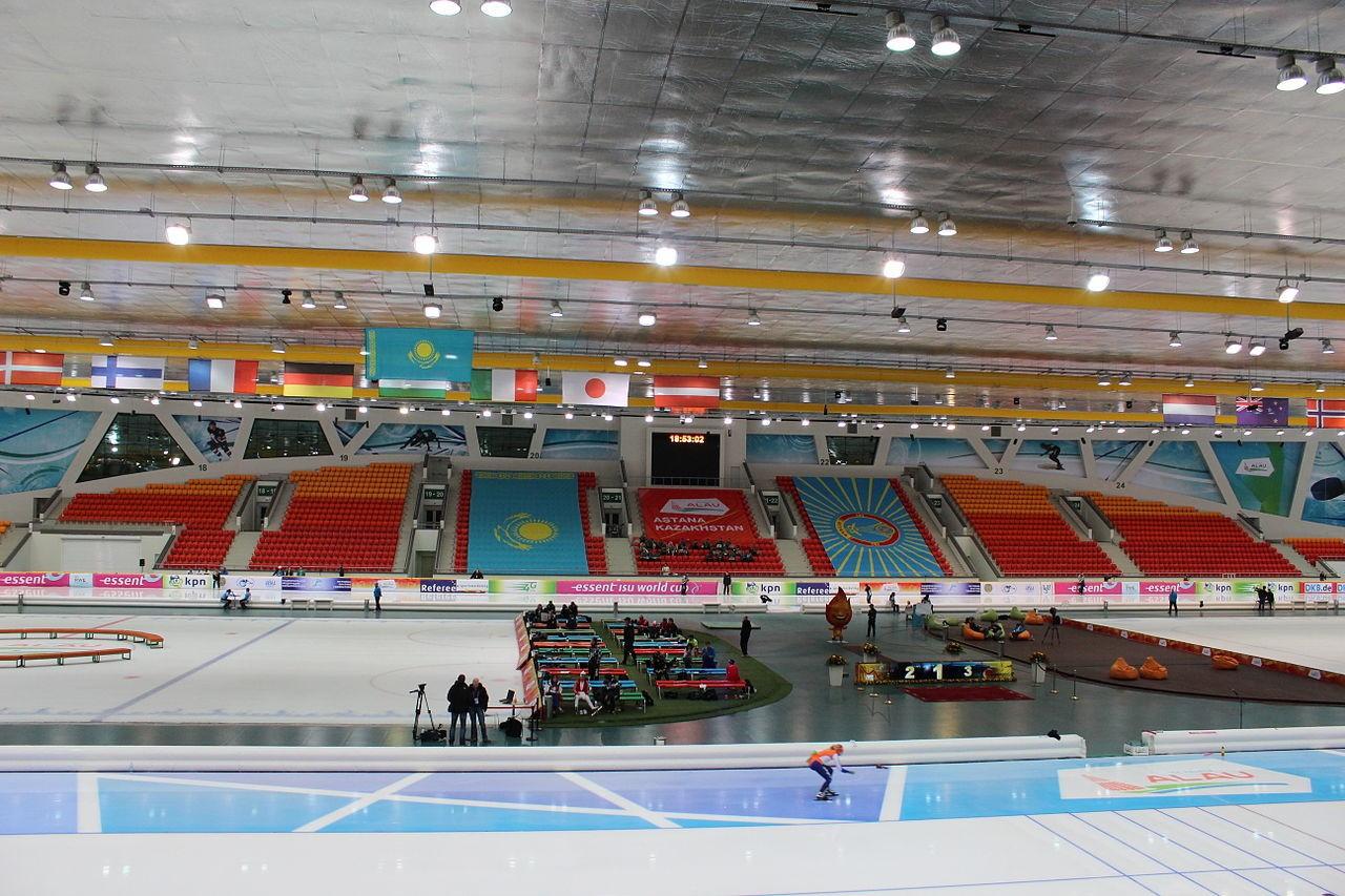 Нур-Султан примет этап Кубка мира по конькобежному спорту