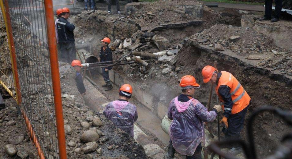 Прорыв теплотрассы в Алматы может оказаться не последним