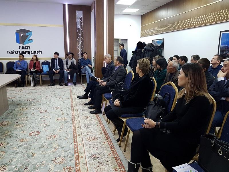 НПП «Атамекен», «Даму» и резиденты ТОО «Индустриальная зона Алматы» обсудили перспективы развития в 2019 году