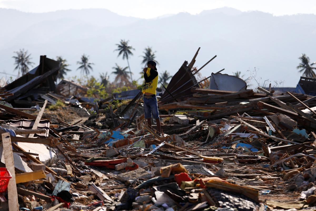 В Индонезии произошло землетрясение магнитудой 5,8