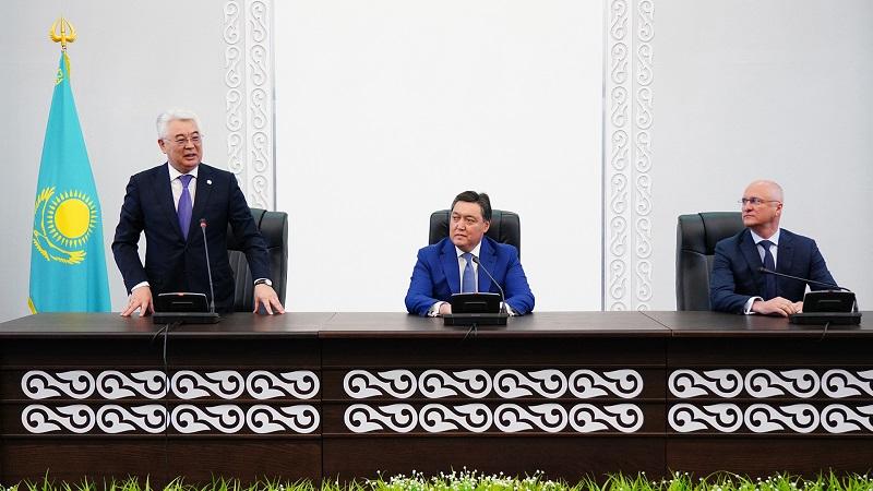 Аскар Мамин представил новых министров иностранных дел, индустрии и инфраструктурного развития