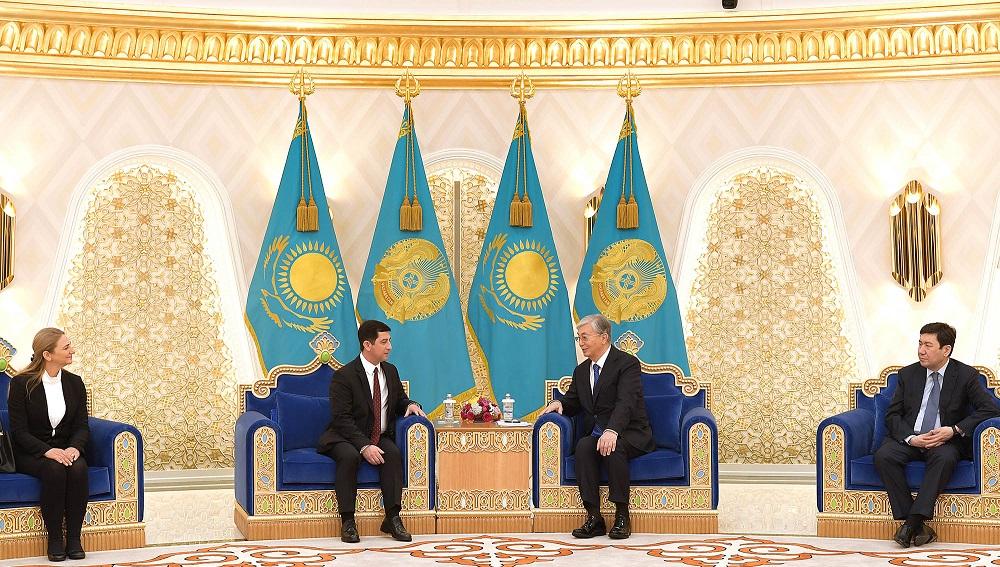 Президент Казахстана принял верительные грамоты послов Болгарии и Саудовской Аравии