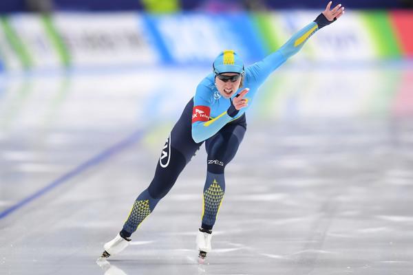 Казахстанка стала пятой на ЧМ по конькобежному спорту