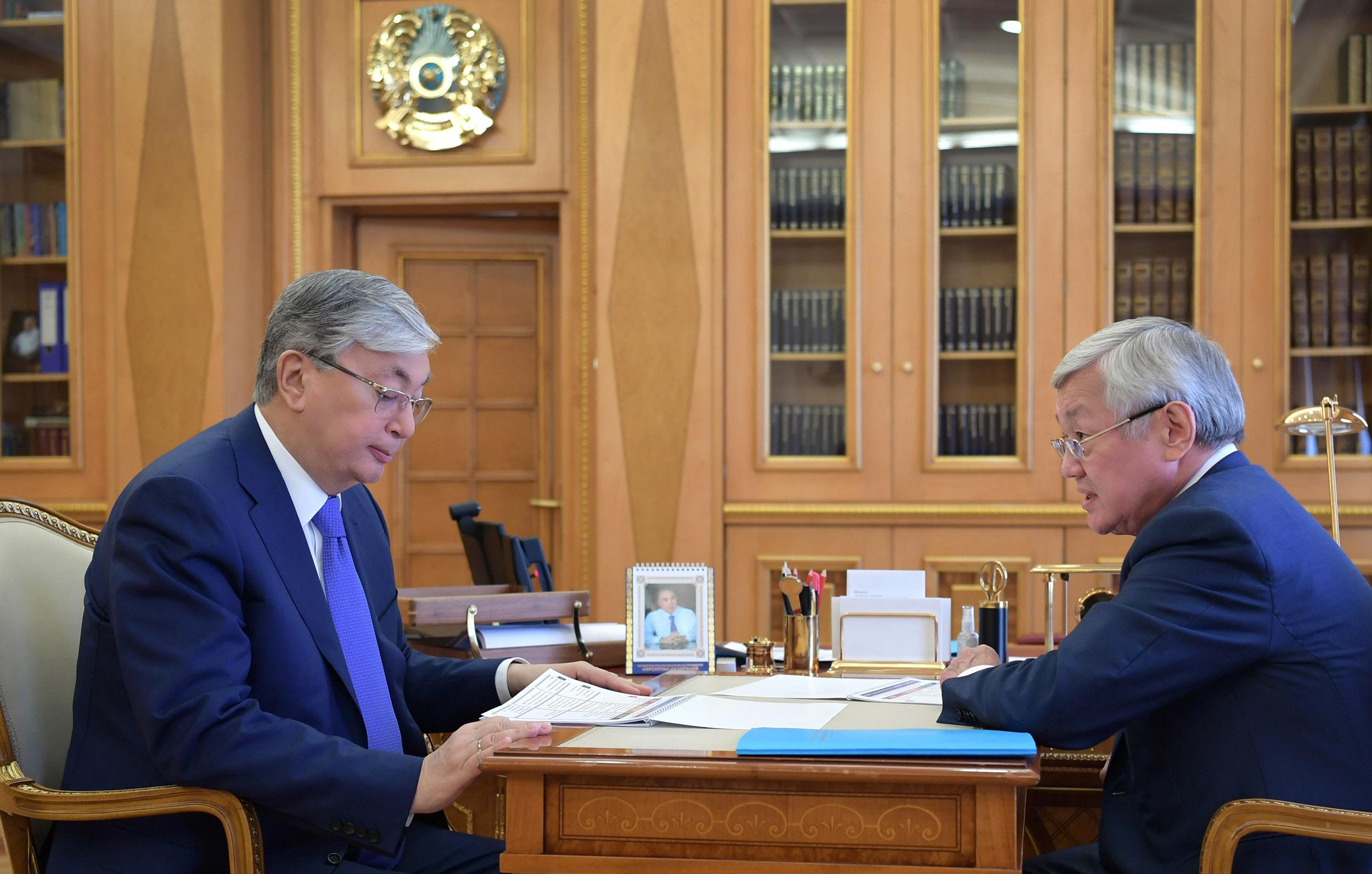 Президент Казахстана заявил о необходимости принять меры по недопущению превышения уровня безработицы