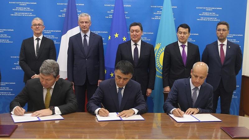 """""""КМГ"""" и """"Тоталь"""" подписали меморандум о сотрудничестве"""