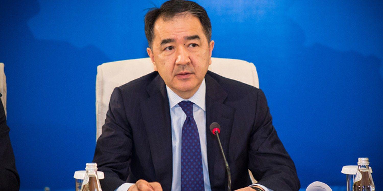 Бакытжан Сагинтаев высказал слова благодарности главе государства