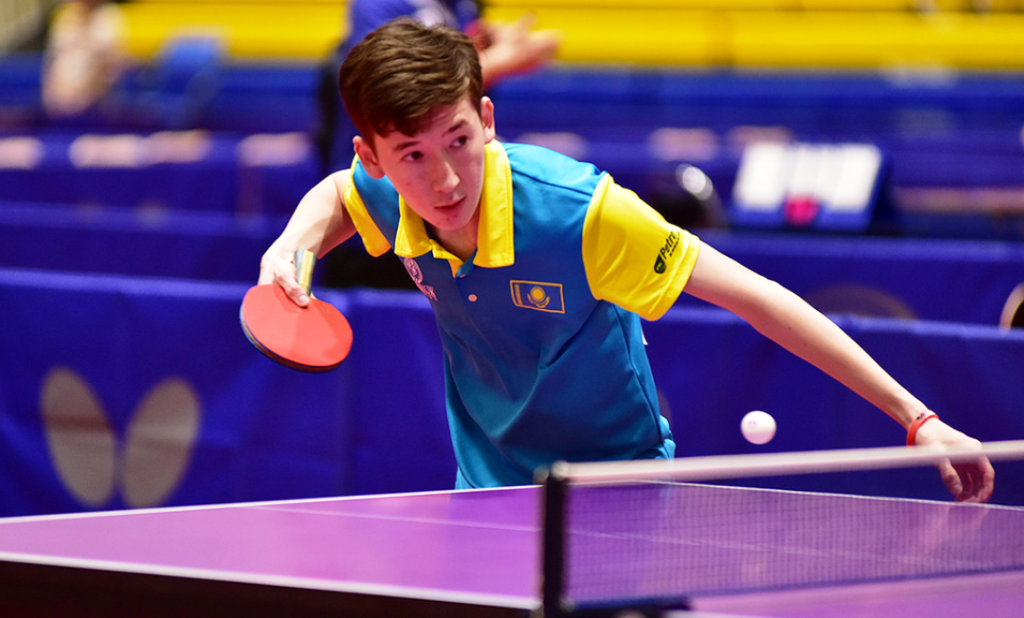 Казахстанец дошел до 1/8 финала мирового тура по настольному теннису в Словении