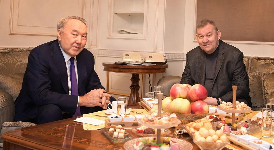 Нурсултан Назарбаев посетил премьеру оперы «Евгений Онегин»