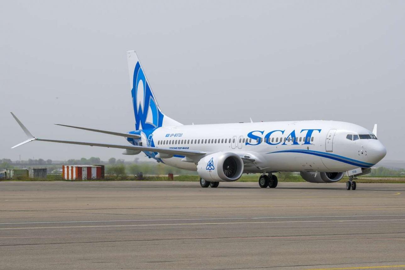 Авиарейс компании SCAT соединит столицы Казахстана и Монголии