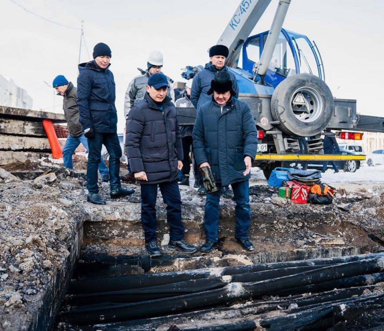 Алтай Кульгинов поручил премировать ликвидаторов аварии на столичной подстанции
