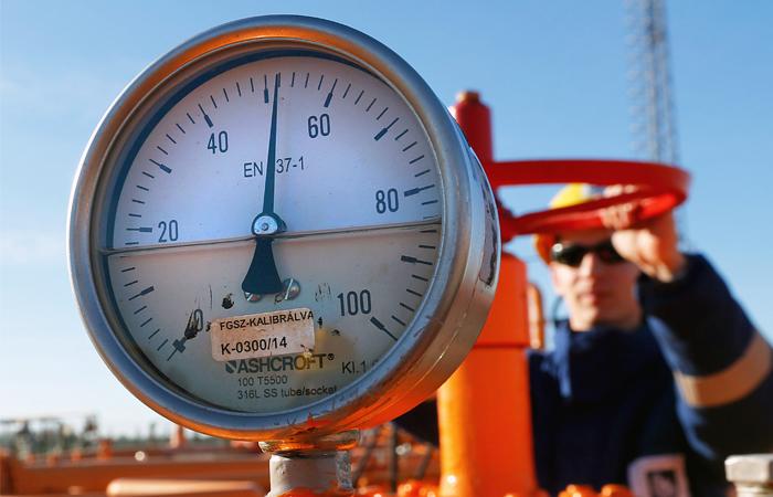 Запасы газа на Украине достигли семилетнего максимума