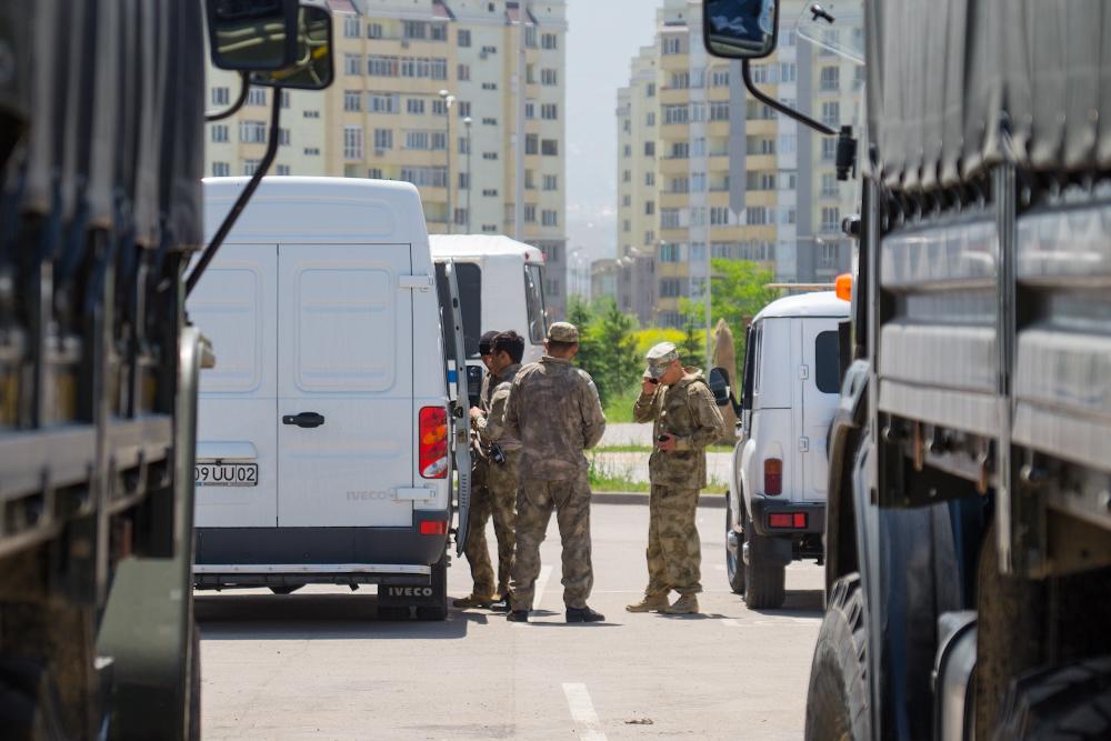 Группу недовольных задержали в Алматы