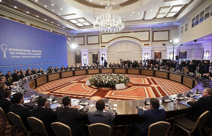 Очередной раунд переговоров по Сирии начинается в Нур-Султане