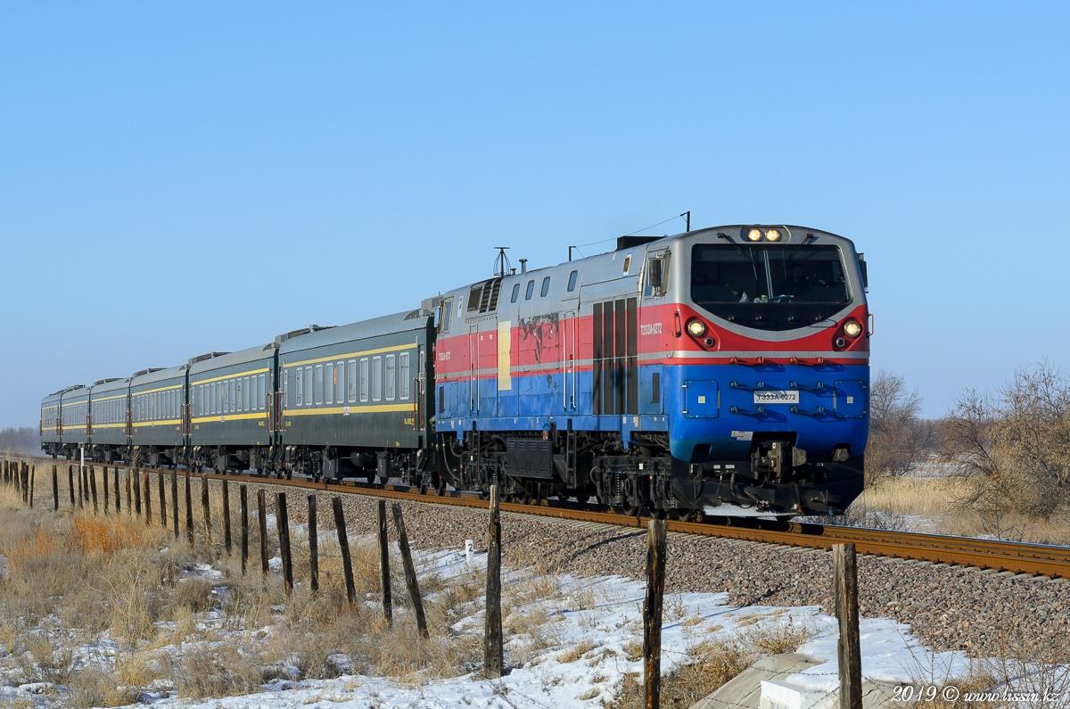 В Казахстане в связи с сильными морозами и метелями отменяется движение некоторых поездов
