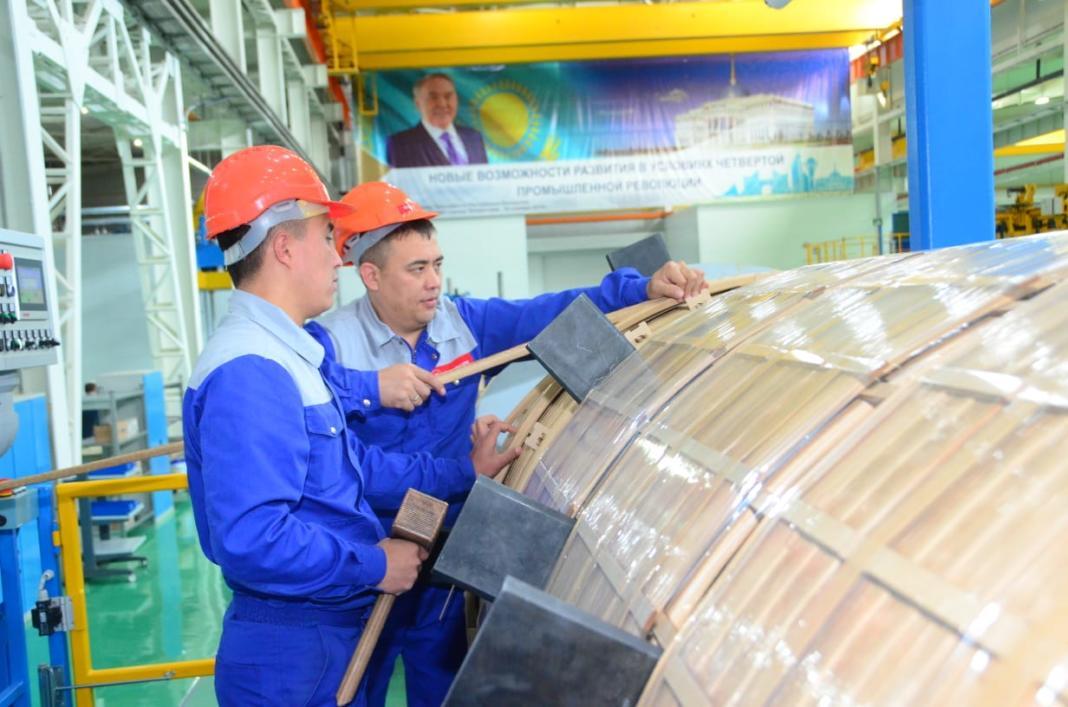В Шымкенте в индустриальной зоне открылся новый трансформаторный завод