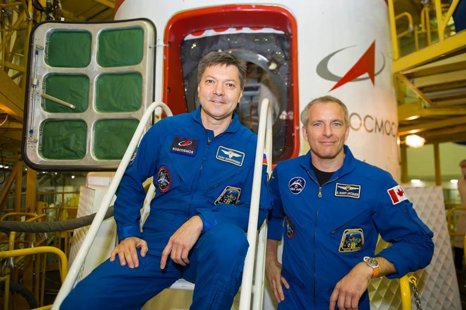 На Байконуре готовятся к старту космонавтов