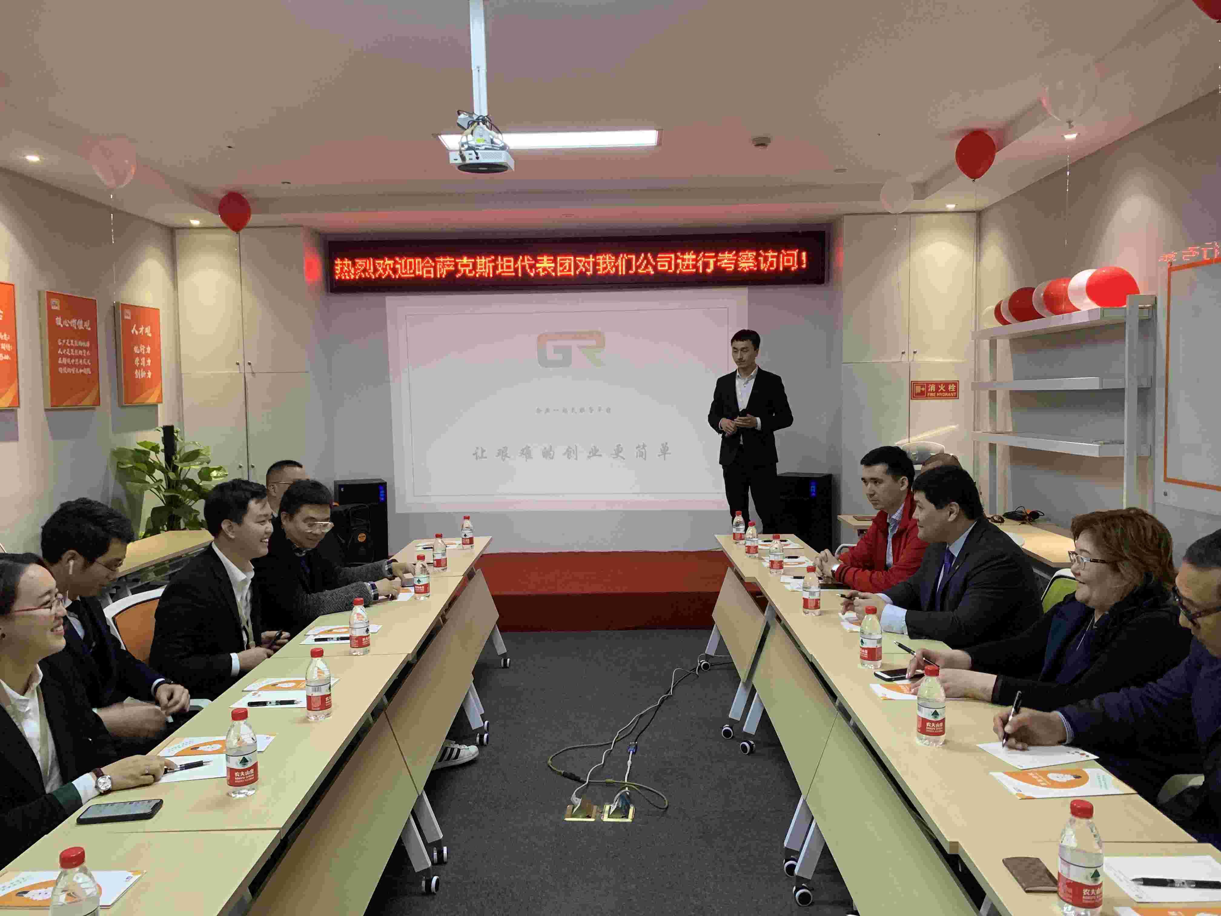 Открыть отдельное направление по продвижению казахстанских продуктов на рынке КНР предложил холдинг «Гуожань»