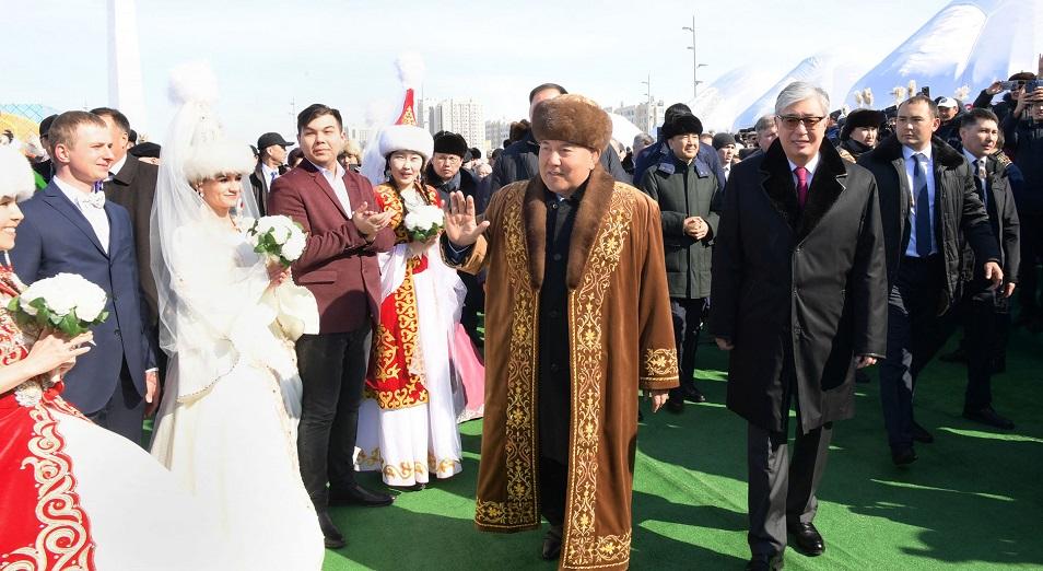 В Казахстане празднуют Наурыз