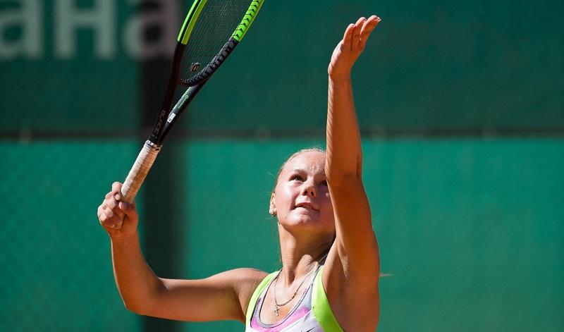 Теннисистка Анастасия Астахова прошла в финал международного турнира в Тайване